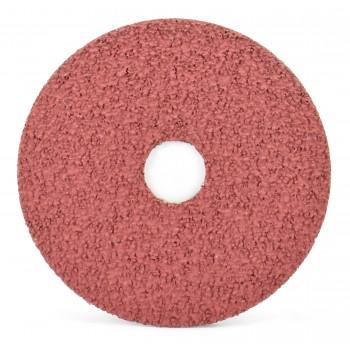 "4-1/2"" x 7/8"" Aluminum Oxide Resin Fiber Disc, 60 Grit"