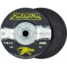 """4-1/2"""" x 1/8"""" x 5/8""""-11 T27 - Depressed Center Grinding Wheel, A60T"""