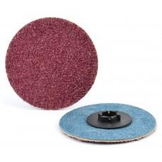 """2"""" Type P Aluminum Oxide Quick-Lok Disc, 320 Grit"""