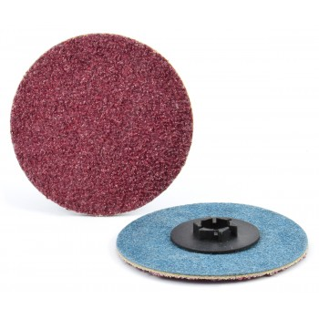 """1"""" Type P Aluminum Oxide Quick-Lok Disc, 24 Grit"""