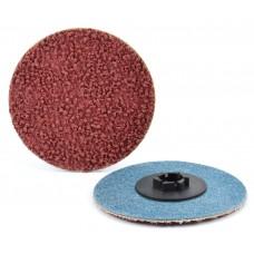 """2"""" Type P Aluminum Oxide, Compact Grain Quick-Lok Disc, 180 Grit"""