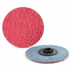 "3"" Type P Ceramic Quick-Lok Disc, 40 Grit"