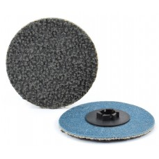 "3"" Type P Silicon Carbide, Compact Grain Quick-Lok Disc, 80 Grit"