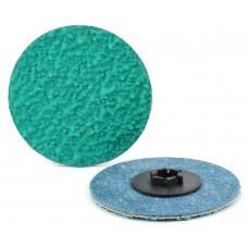 "1-1/2"" Type P Zirconia Alumina PLUS Quick-Lok Disc, 24 Grit"