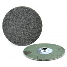 "3"" Type S PREDATOR Resin Fiber Quick-Lok Disc, 24 Grit"