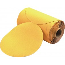 "5"" SPECTRA Gold Paper PSA Disc Roll, 60 Grit"