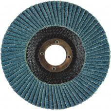 "4-1/2"" x 5/8""-11 T29 - Angle Face EZA Fiberglass Flap Disc, 80 Grit"