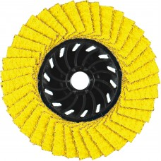 "4-1/2"" x 5/8""-11 AP Performance Coated PREDATOR Nylon Flap Disc, 50 Grit"