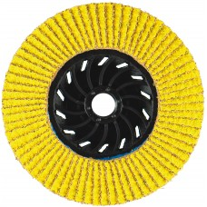 "4-1/2"" x 5/8""-11 Hard Edge Performance Coated PREDATOR Nylon Flap Disc, 120 Grit"
