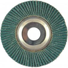 "5"" x 5/8""-11 T29 - Angle Face SZA HD Aluminum Flap Disc, 120 Grit"