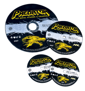 predator cut off discs