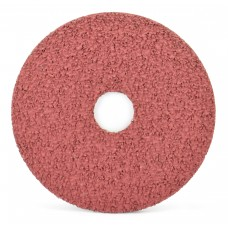 "4-1/2"" x 7/8"" Aluminum Oxide Resin Fiber Disc, 16 Grit"