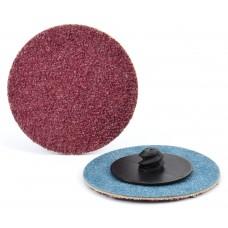 """3/4"""" Type R Aluminum Oxide Quick-Lok Disc, 24 Grit"""