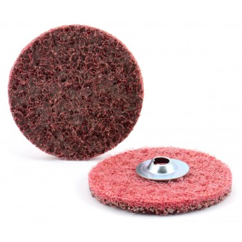 """2"""" Type S Z-WEB Surface Conditioning Quick-Lok Disc, MED"""