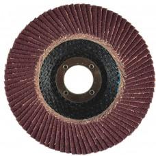 "4-1/2"" x 5/8""-11 T27 - Flat Face Aluminum Oxide Fiberglass Flap Disc, 80 Grit"