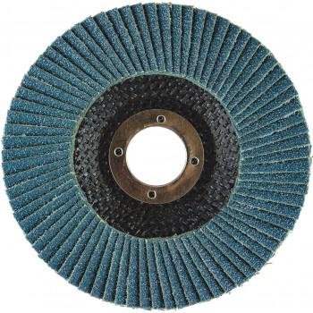 "4-1/2"" x 5/8""-11 T27 - Flat Face EZA Fiberglass Flap Disc, 120 Grit"