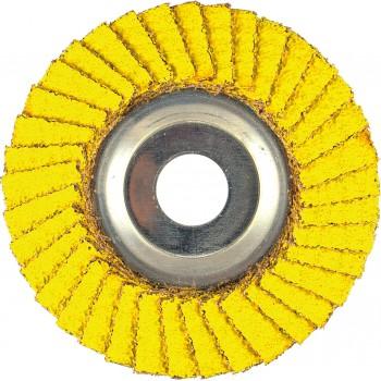 "4-1/2"" x 7/8"" AP Performance Coated PREDATOR Aluminum Flap Disc, 36 Grit"