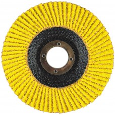 "4-1/2"" x 5/8""-11 Hard Edge Performance Coated PREDATOR Fiberglass Flap Disc, 50 Grit"