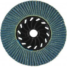 """4-1/2"""" x 5/8""""-11 T27 - Flat Face SZA Nylon Flap Disc, 36 Grit"""