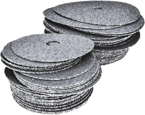 application analysis - large image of resin fiber discs