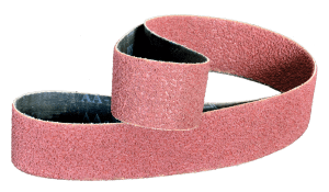 aluminum oxide compact grain belts work well against titanium