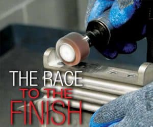 race to the finish - press and media