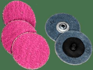coated abrasives ambush ceramic quick change discs quick-loks