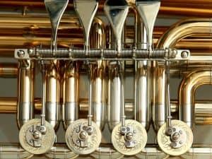 non ferrous brass cast instrument